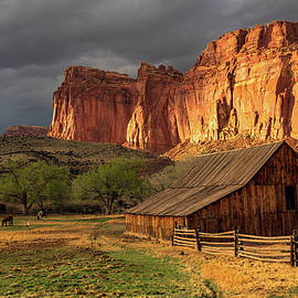 Capitol Reef Shining by Steve Luther