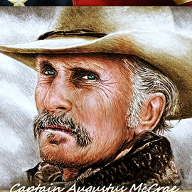 Captain Gus McCrae by Andrew Read