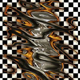 Caramel Abstract Swirl by Mario Carini