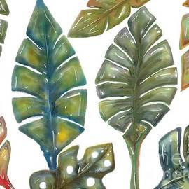 Caribbean Leaves by CR Greaves