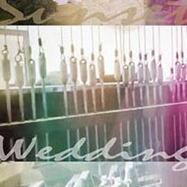 Carillon Sunset Wedding Bells wide polytych by GJ Glorijean