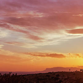 Carlsbad Caverns Sunset  by Cathy Anderson