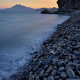 Carnaje Beach. Cabo de gata. At  sunset. by Guido Montanes Castillo