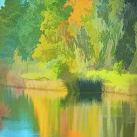 Carolina Autumn Reflection by Jerry Griffin