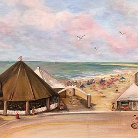 Carousel Beach by Anne Barberi