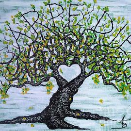 Carpe Diem Love Tree by Aaron Bombalicki