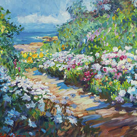 Carpenteria Beach Path by David Lloyd Glover