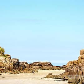 Carrickfinn Beach Rock Formations by Eddie Barron