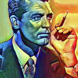 Cary Grant by Laurence Stefani