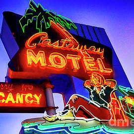 Castaway Motel Neon Sign by Bob Christopher