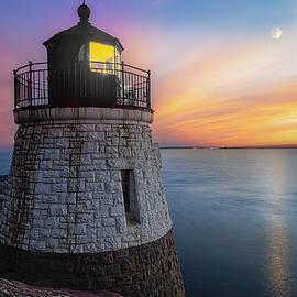 Castle Hill Light RI by Susan Candelario