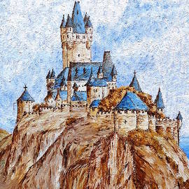 Castle on the River Rhine by Birgit Moldenhauer