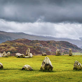 Castlerigg Panorama by Dave Bowman