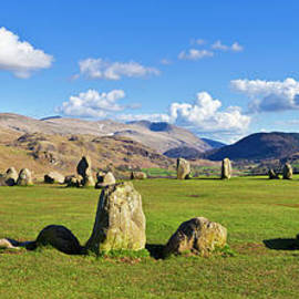 Castlerigg stone circle, Keswick,  Lake District, England by Neale And Judith Clark