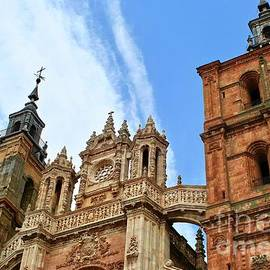 Cathedral of Astorga, Spain by Ann Brown