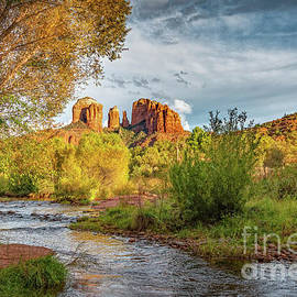 Cathedral Rock by Viv Thompson
