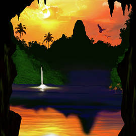 Cavern At First Light by Stu Randerson