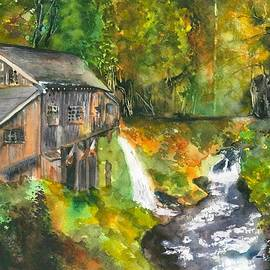 Cedar Creek Grist Mill by Hiroko Stumpf