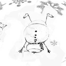 Celebrate the Snowflakes by Zsanan Studio