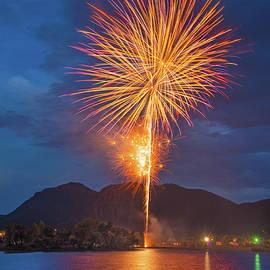 Celebrationem Is Latin For Celebration. Celebrating 4th of July In Palmer Lake, Colorado, U. S. A. by Bijan Pirnia