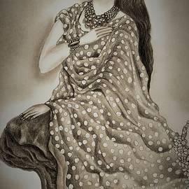 Celestial enchantress by Tara Krishna