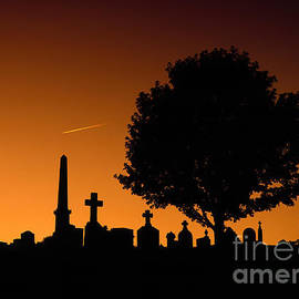Cemetery Silhouette by Mike Nellums
