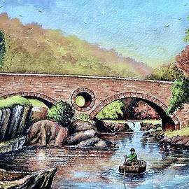 Cenarth Bridge 3 by Andrew Read