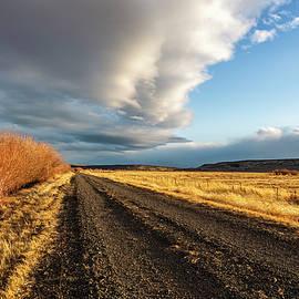 Center Patrol Road at Malheur NWR L by Belinda Greb