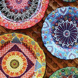 Ceramic Plates  2 - Cordoba by Allen Beatty