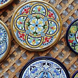 Ceramic Plates  3 - Cordoba by Allen Beatty