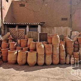 Ceramics in the souk, Taroudant by Paul Boizot