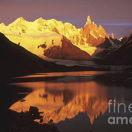 Cerro Torre Patagonia Argentina by James Brunker