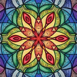 Chakra Pattern  by Michell Rosenthal