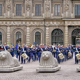 Changing of the Guard - Royal Palalce - Sockholm - Sweden by Tony Crehan