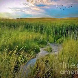 Changing Seasons On The Prairie by Jon Burch Photography