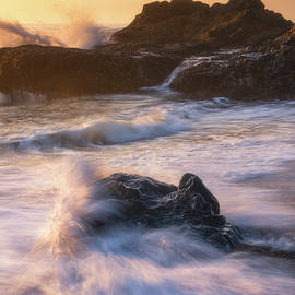 Chaos at the Shoreline by Darren White