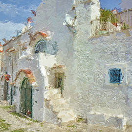 Characteristic houses of southern Italy by Rita Di Lalla
