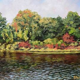 Charles River, Waltham, MA by Eileen Patten Oliver