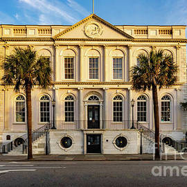 Charleston Town Hall by Norma Brandsberg