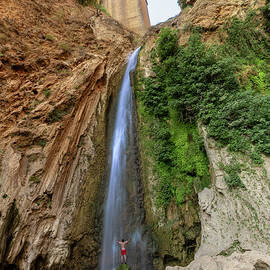 Chasing Waterfalls in Ronda Spain by Ben Ford