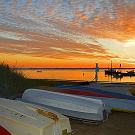 Chatham Harbor Blaze by Dianne Cowen Photography