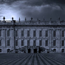 Chatworth House At Night by Clive Beake