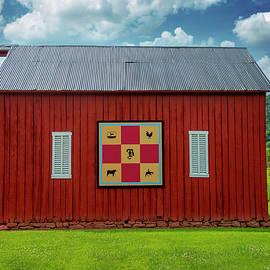 Checkerboard Barn, Pennsylvania 2018 by Michael Chiabaudo