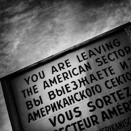 Checkpoint Charlie by Dave Bowman