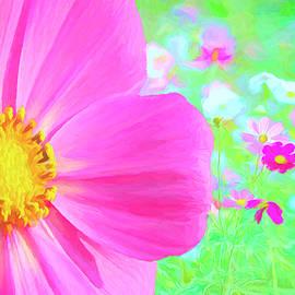 Cheerful Cosmos Garden by Susan Hope Finley