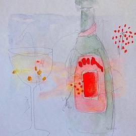 Pink Champagne Martini by Terri Price