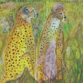 Cheetah Couple  by Yuliya Milinska
