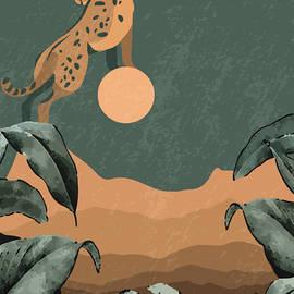 Cheetah landscape print by Mounir Khalfouf