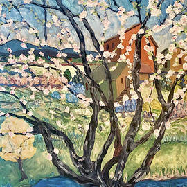 Cherry Blossom Tree by Deborah Eve ALASTRA