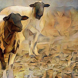 Chester County Goats by Susan Maxwell Schmidt